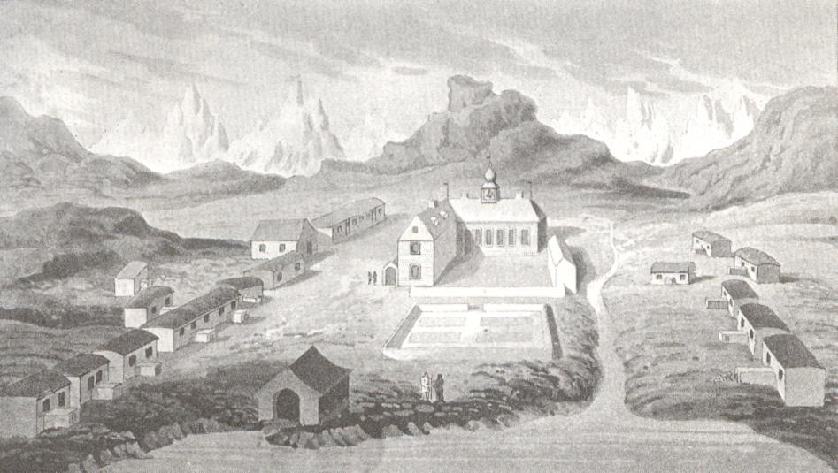 The Moravians at Herrnhut