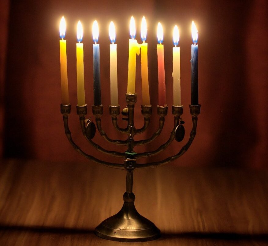hanukkah, judaism, candlestick